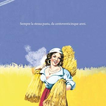 """De Cecco, campagna di celebrazione dei 125 anni, """"Centoventicinque"""". Headline """"Always the same pasta, for 125 years"""". CW Beatrice Furlotti, AD Maddalena Giavarini, CD Aurelio Tortelli."""